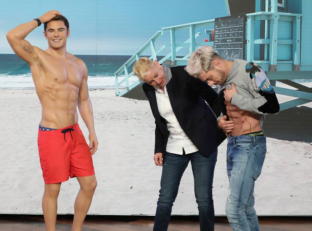 Zac efron steroids for Baywatch